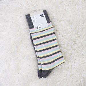 Nordstrom Rack Multicolor Stripe Socks NWT